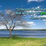 How to Accept–and Learn From–the Gift of Criticism